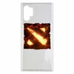 Чехол для Samsung Note 10 Plus Dota 2 Fire Logo