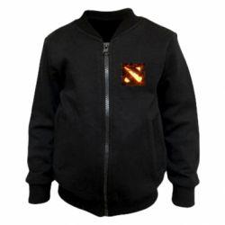 Детский бомбер Dota 2 Fire Logo