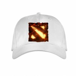 Детская кепка Dota 2 Fire Logo - FatLine