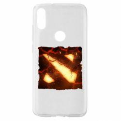 Чехол для Xiaomi Mi Play Dota 2 Fire Logo