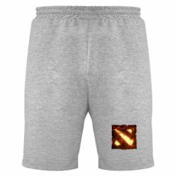 Мужские шорты Dota 2 Fire Logo - FatLine