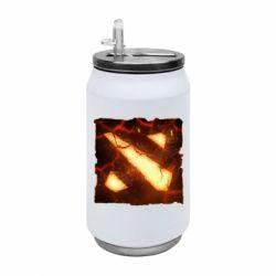 Термобанка 350ml Dota 2 Fire Logo