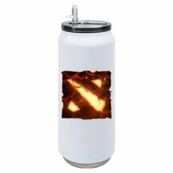 Термобанка 500ml Dota 2 Fire Logo