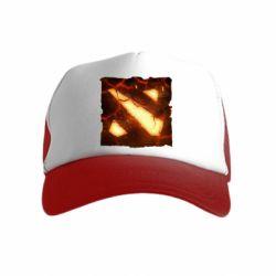 Детская кепка-тракер Dota 2 Fire Logo