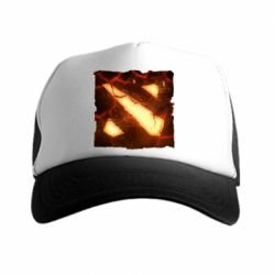 Кепка-тракер Dota 2 Fire Logo - FatLine