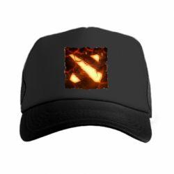 Кепка-тракер Dota 2 Fire Logo