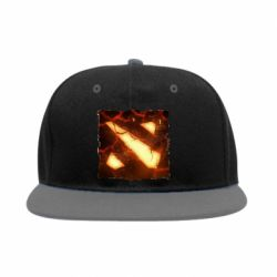 Снепбек Dota 2 Fire Logo - FatLine