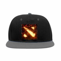 Снепбек Dota 2 Fire Logo