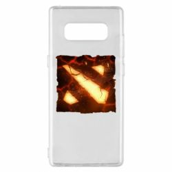 Чехол для Samsung Note 8 Dota 2 Fire Logo