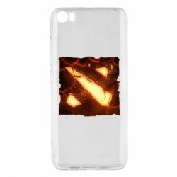 Чехол для Xiaomi Mi5/Mi5 Pro Dota 2 Fire Logo