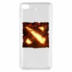 Чехол для Xiaomi Mi 5s Dota 2 Fire Logo