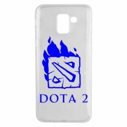 Чохол для Samsung J6 Dota 2 Fire