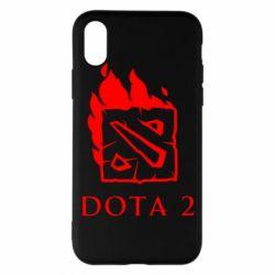 Наклейка Dota 2 Fire - FatLine