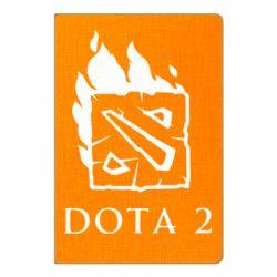 Блокнот А5 Dota 2 Fire