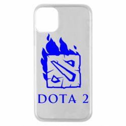 Чохол для iPhone 11 Pro Dota 2 Fire