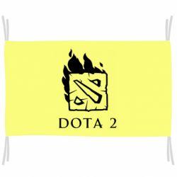 Прапор Dota 2 Fire