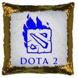 Подушка-хамелеон Dota 2 Fire