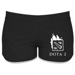 Женские шорты Dota 2 Fire - FatLine