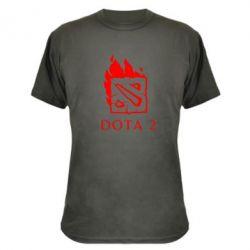 Камуфляжная футболка Dota 2 Fire - FatLine