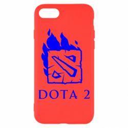 Чохол для iPhone 8 Dota 2 Fire