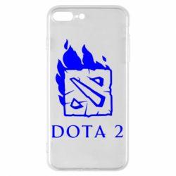 Чохол для iPhone 8 Plus Dota 2 Fire