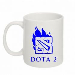 Кружка 320ml Dota 2 Fire - FatLine