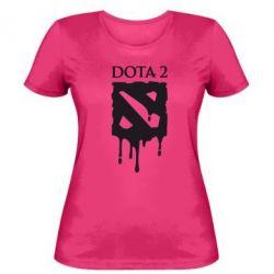 Женская футболка Dota 2 Logo - FatLine