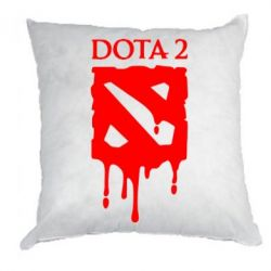 Подушка Dota 2 Logo - FatLine