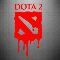 Наклейка Dota 2 Logo - FatLine