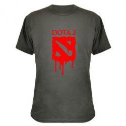 Камуфляжная футболка Dota 2 Logo - FatLine