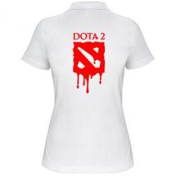 Женская футболка поло Dota 2 Logo - FatLine