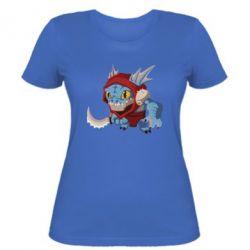 Женская футболка Dota 2 Slark Art - FatLine