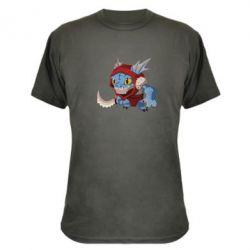 Камуфляжная футболка Dota 2 Slark Art - FatLine