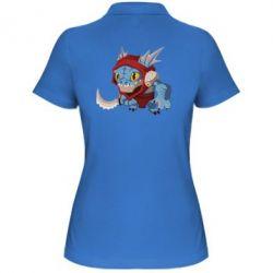 Женская футболка поло Dota 2 Slark Art - FatLine