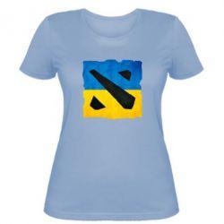 Женская футболка Dota 2 Ukraine Team - FatLine