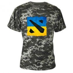 Камуфляжная футболка Dota 2 Ukraine Team - FatLine