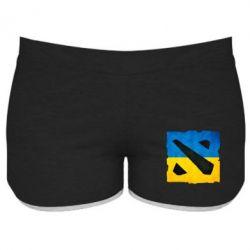 Женские шорты Dota 2 Ukraine Team - FatLine