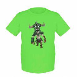 Детская футболка Dota 2 Undying Art - FatLine
