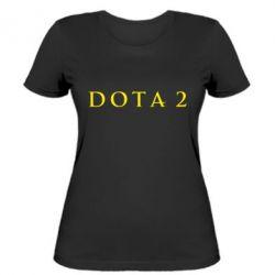 Женская футболка Дота 2 - FatLine