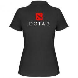 Женская футболка поло Dota 2 - FatLine