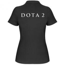 Женская футболка поло Дота 2 - FatLine