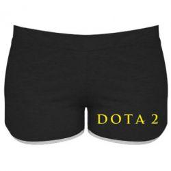Женские шорты Дота 2 - FatLine