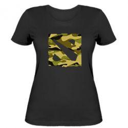 Женская футболка Dota камуфляж - FatLine