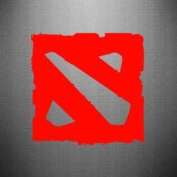 Наклейка Dota Logo Дота - FatLine