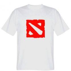Мужская футболка Dota Logo Дота - FatLine