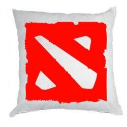 Подушка Dota Logo Дота - FatLine