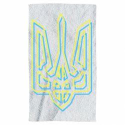Полотенце Double yellow blue trident
