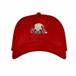 Купить Детская кепка Doug the pug, FatLine