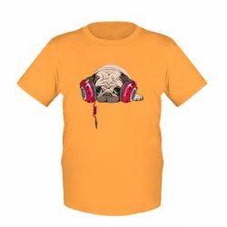 Детская футболка Doug the pug