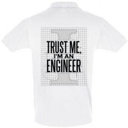 Футболка Поло Довірся мені я інженер